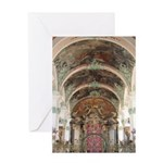 Abbey Cathedral Greeting Card