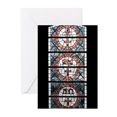 Stained Glass Greeting Cards (Pk of 20)