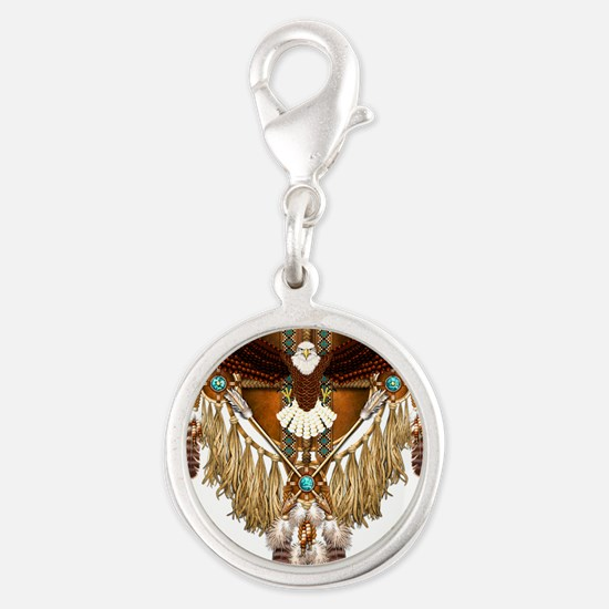 Bald Eagle Mandala Charms