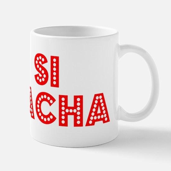 Retro Si Racha (Red) Mug
