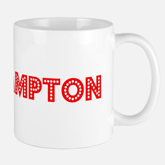 Retro Southampton (Red) Mug