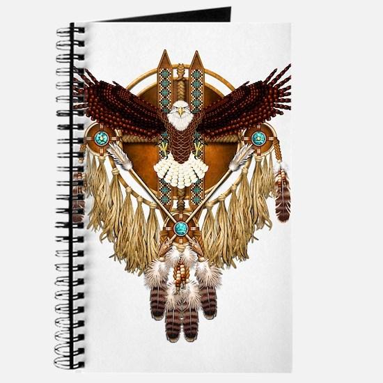 Bald Eagle Mandala Journal