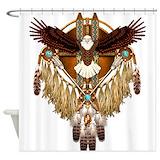 Bald eagle Shower Curtains