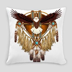 Bald Eagle Mandala Everyday Pillow