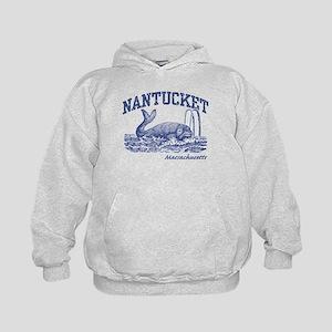 Nantucket Massachusetts Kids Hoodie