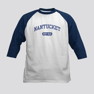 Nantucket EST 1641 Kids Baseball Jersey