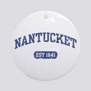 Nantucket EST 1641 Ornament (Round)