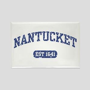 Nantucket EST 1641 Rectangle Magnet