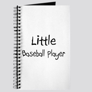 Little Baseball Player Journal