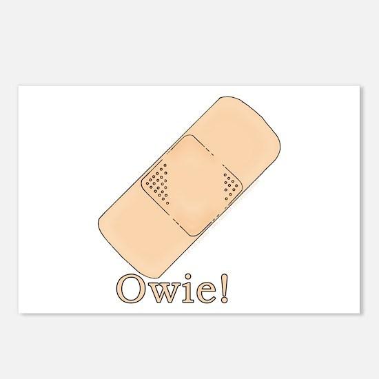 Cute Bandage Art Postcards (Package of 8)
