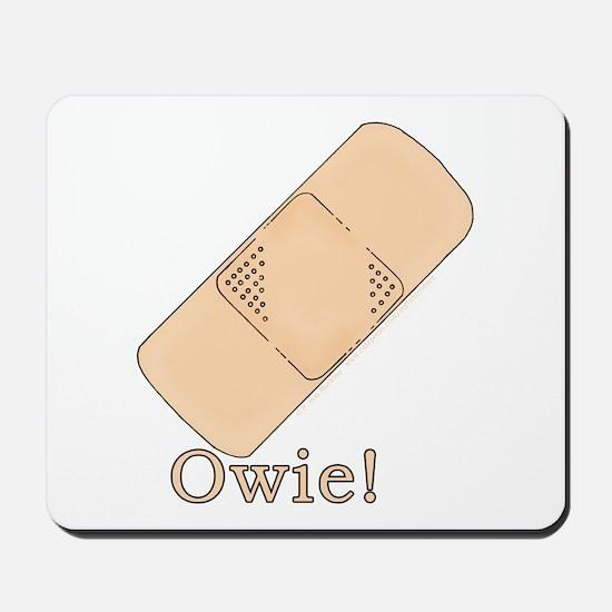 Cute Bandage Art Mousepad