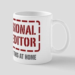 Professional Video Editor Mug