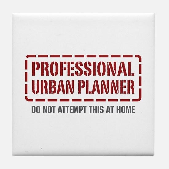 Professional Urban Planner Tile Coaster