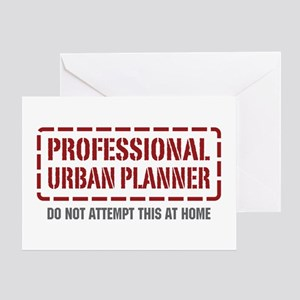 Professional Urban Planner Greeting Card