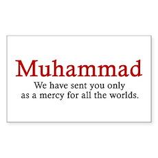 Muhammad Rectangle Sticker