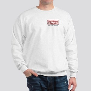 Professional Trainer Sweatshirt