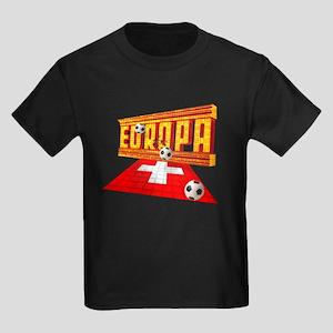Europa Switzerland Kids Dark T-Shirt