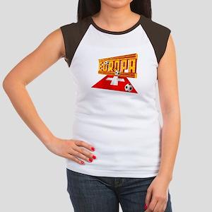 Europa Switzerland Women's Cap Sleeve T-Shirt