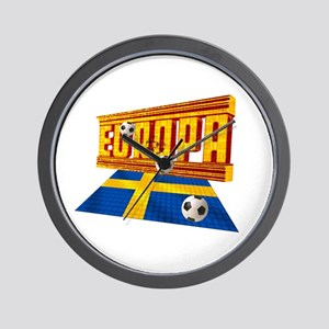 Sweden Europa Wall Clock