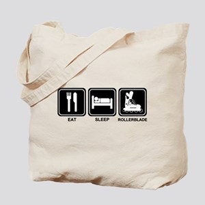 EAT SLEEP ROLLERBLADE Tote Bag