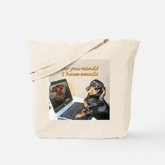 Lilys Computer Tote Bag