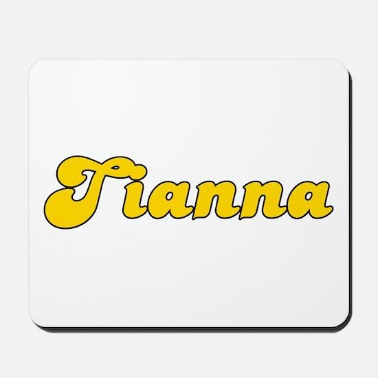 Retro Tianna (Gold) Mousepad