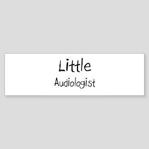 Little Audiologist Bumper Sticker