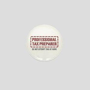 Professional Tax Preparer Mini Button