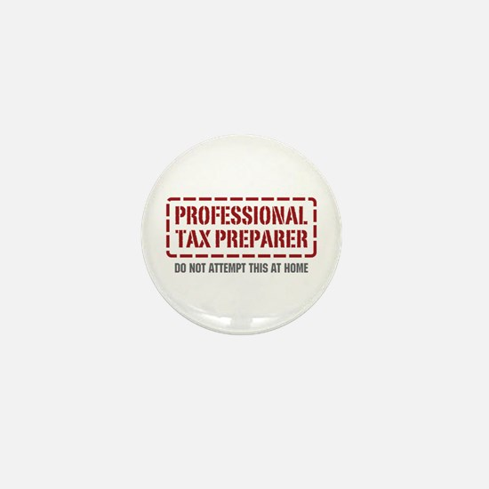 Professional Tax Preparer Mini Button