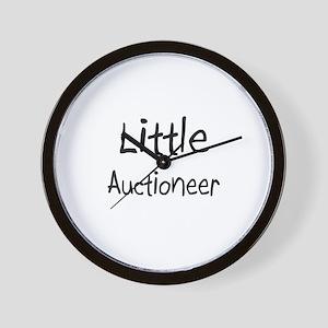 Little Auctioneer Wall Clock