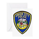 Union City Police Greeting Card