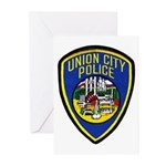 Union City Police Greeting Cards (Pk of 10)