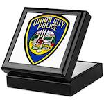 Union City Police Keepsake Box