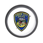 Union City Police Wall Clock