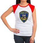 Union City Police Women's Cap Sleeve T-Shirt