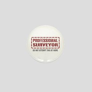 Professional Surveyor Mini Button