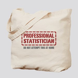 Professional Statistician Tote Bag