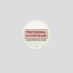 Professional Statistician Mini Button