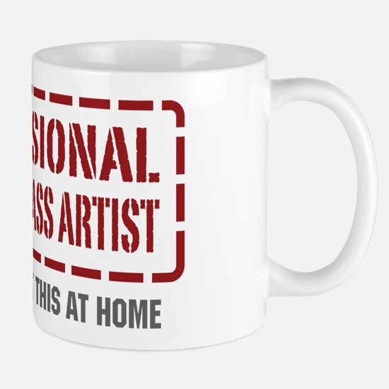Professional Stained Glass Artist Mug