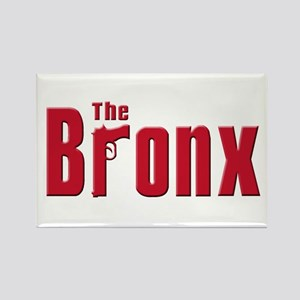 The Bronx,New York Rectangle Magnet