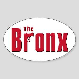 The Bronx,New York Oval Sticker