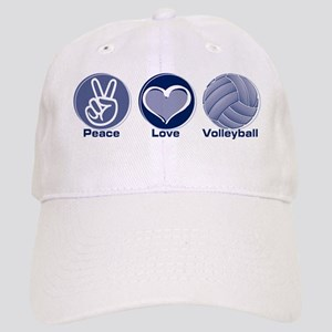 Peace Love Volleyball Cap