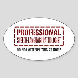 Professional Speech-Language Pathologist Sticker (