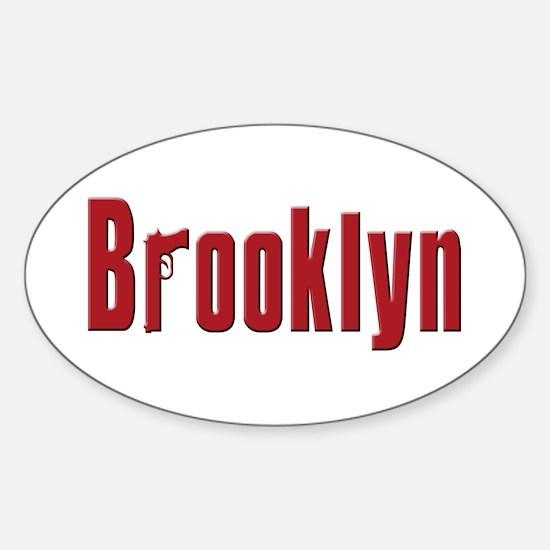 Brooklyn, New York Oval Decal
