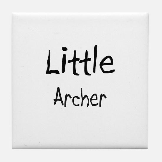 Little Archer Tile Coaster