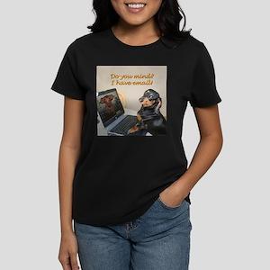 Lilys Computer Women's Dark T-Shirt