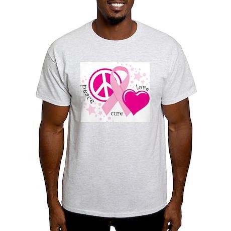 BC Peace Love Cure Light T-Shirt
