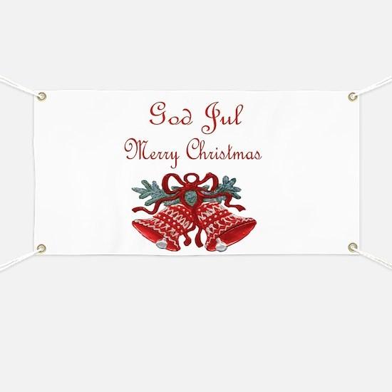 Swedish Christmas Banner