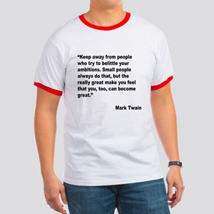 Mark Twain Great People Quote Ringer T