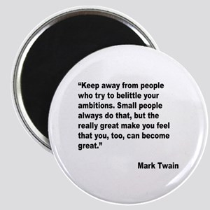 Mark Twain Great People Quote Magnet
